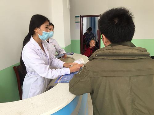 热情的帮助病人